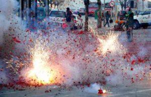 Xử phạt với hành vi sử dụng pháo, chất cháy nổ